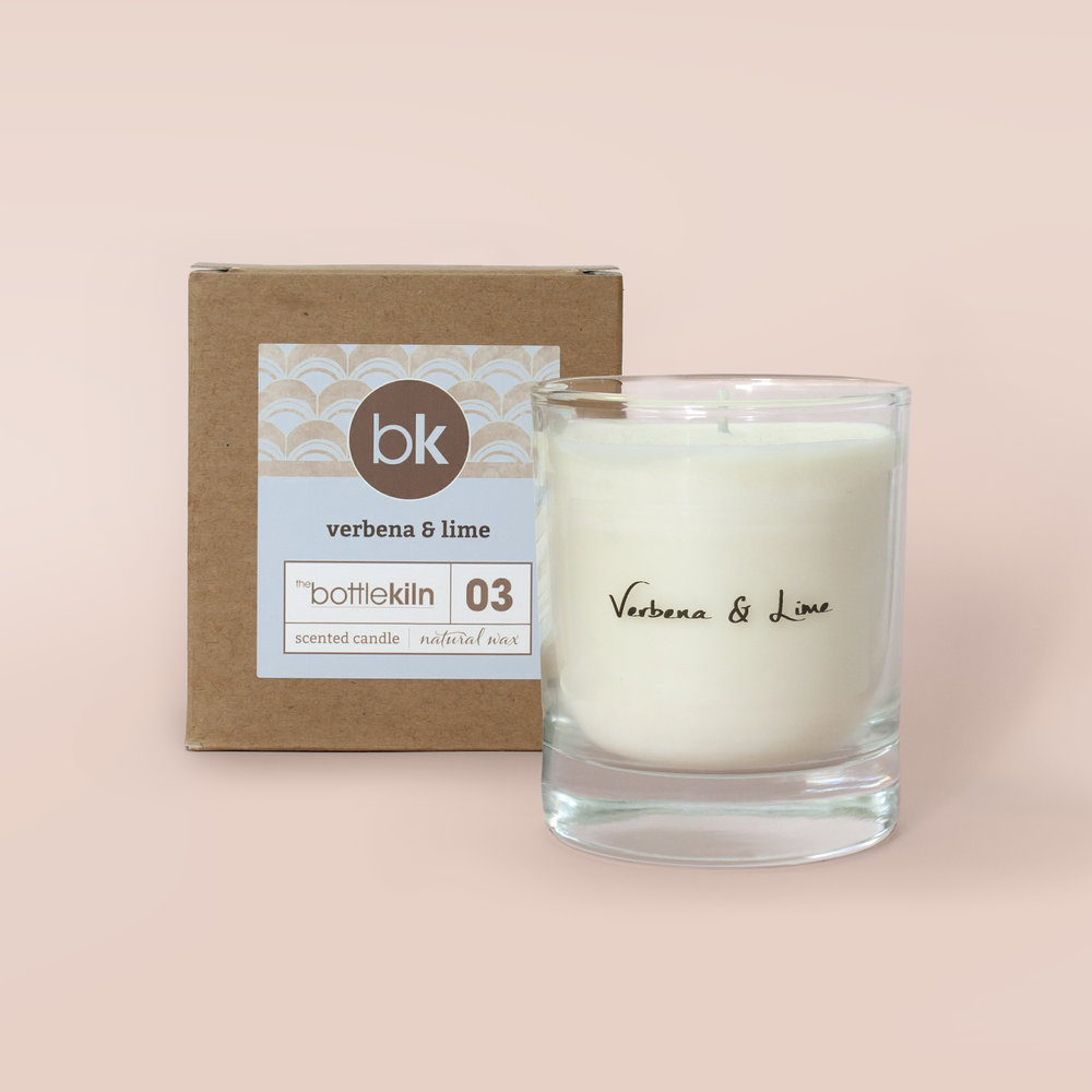 Fragranced candle.