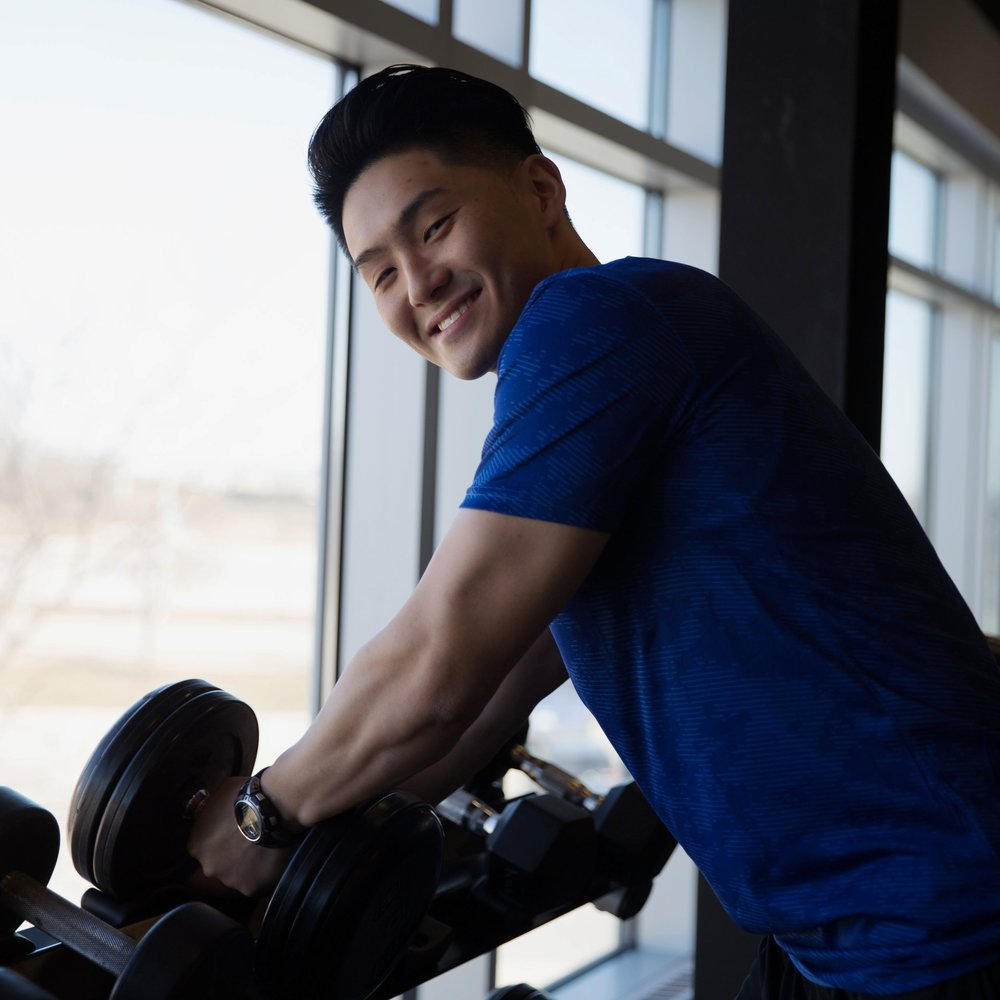 ANTHONY LAM - BSc. Kinesiology Honours Co-Op (University of Waterloo)Certified CanFit-Pro Personal Training SpecialistSociety of Weight Training Injury SpecialistTRX & Kettlebell InstructorBoot Camp Instructor