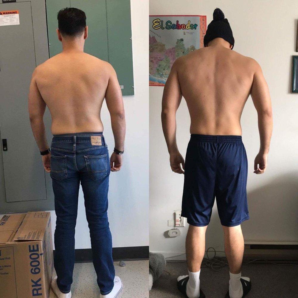 Joel Olivares - 2017 - 3 month transformation