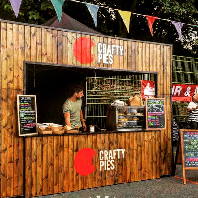 Street Food. - Come find us in and around London serving up our Crafty Pies - check our social media to see where we are next.