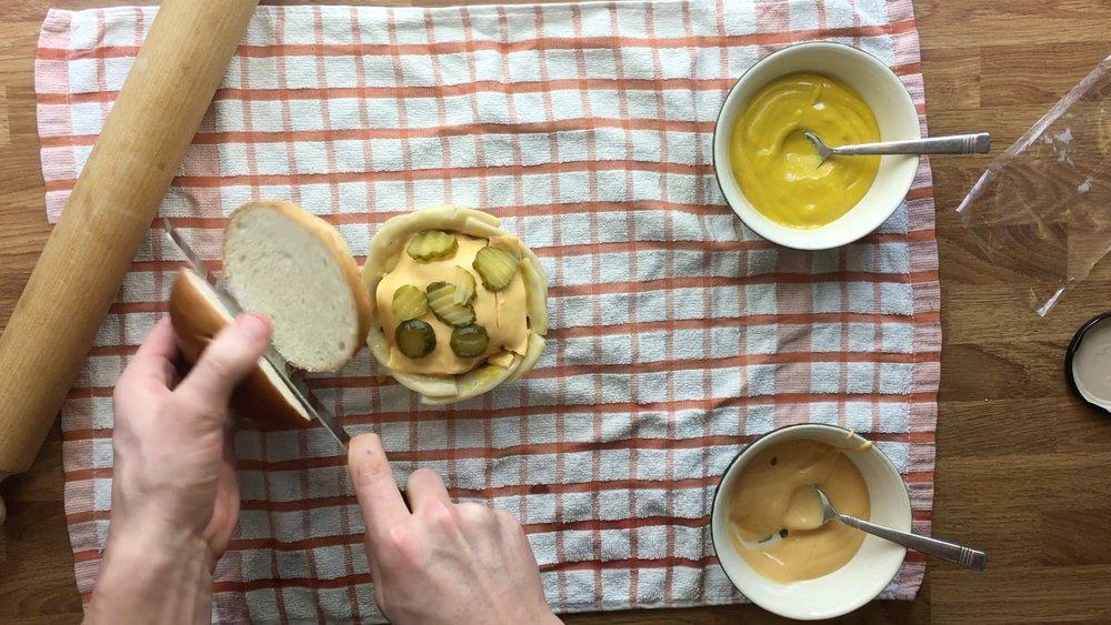 Burger Pie -