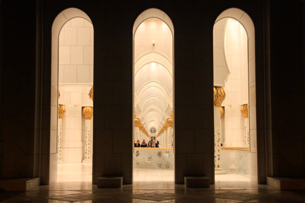Just remember to schedule your visit to Sheikh Zayed Mosque out of the praying times so you can freely walk around the building.
