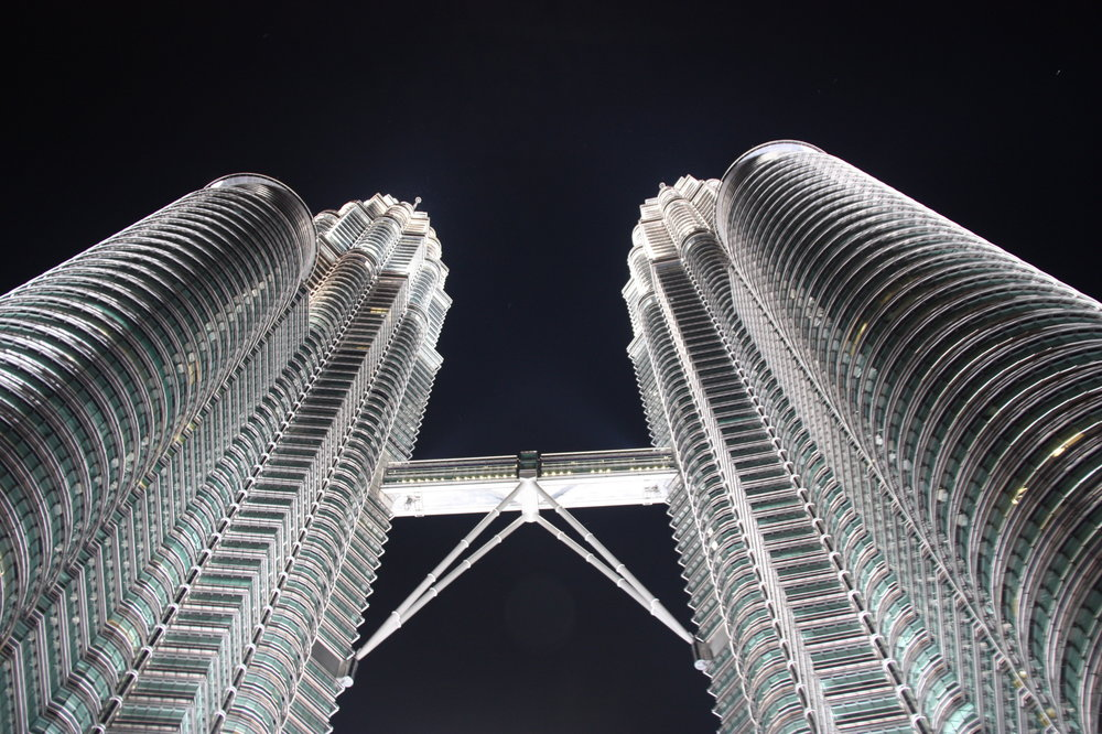 Look up! The Petronas Towers are even more impressive in person.