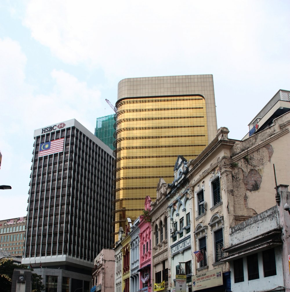 Old and new all mixed up in KL.