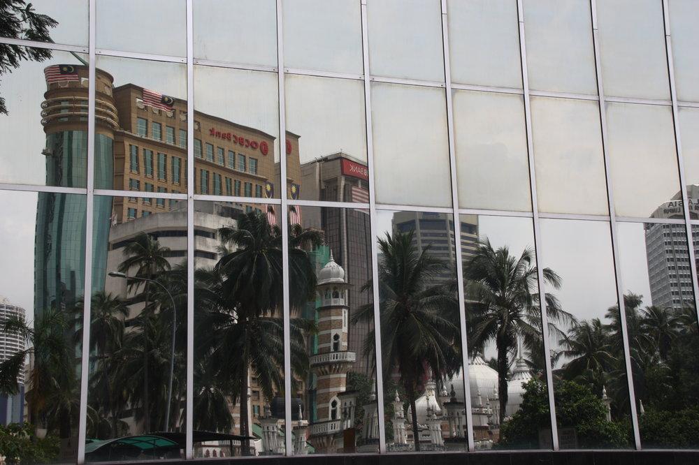 KL city reflections.