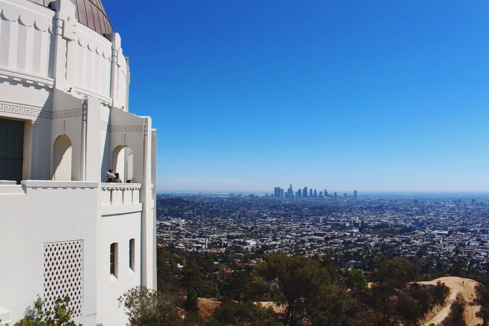 City of Angels seen from Griffith Observatory.  Another beautiful area to explore.