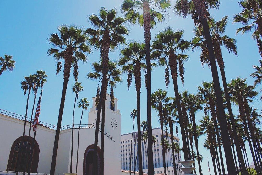 🌴🌴🌴Union Station Los Angeles.