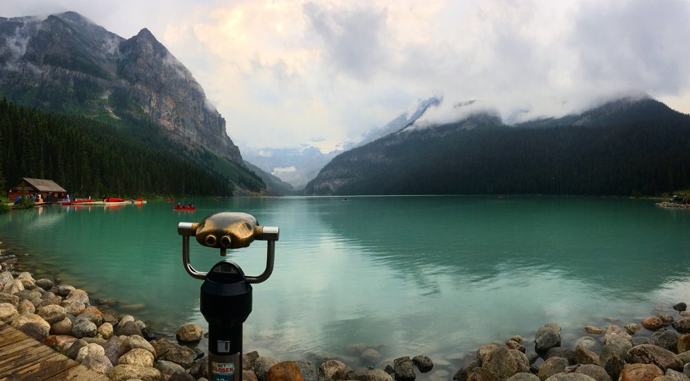 Lake Louise is another gorgeous must visit. Not enough words to describe how beautiful it is to look at.