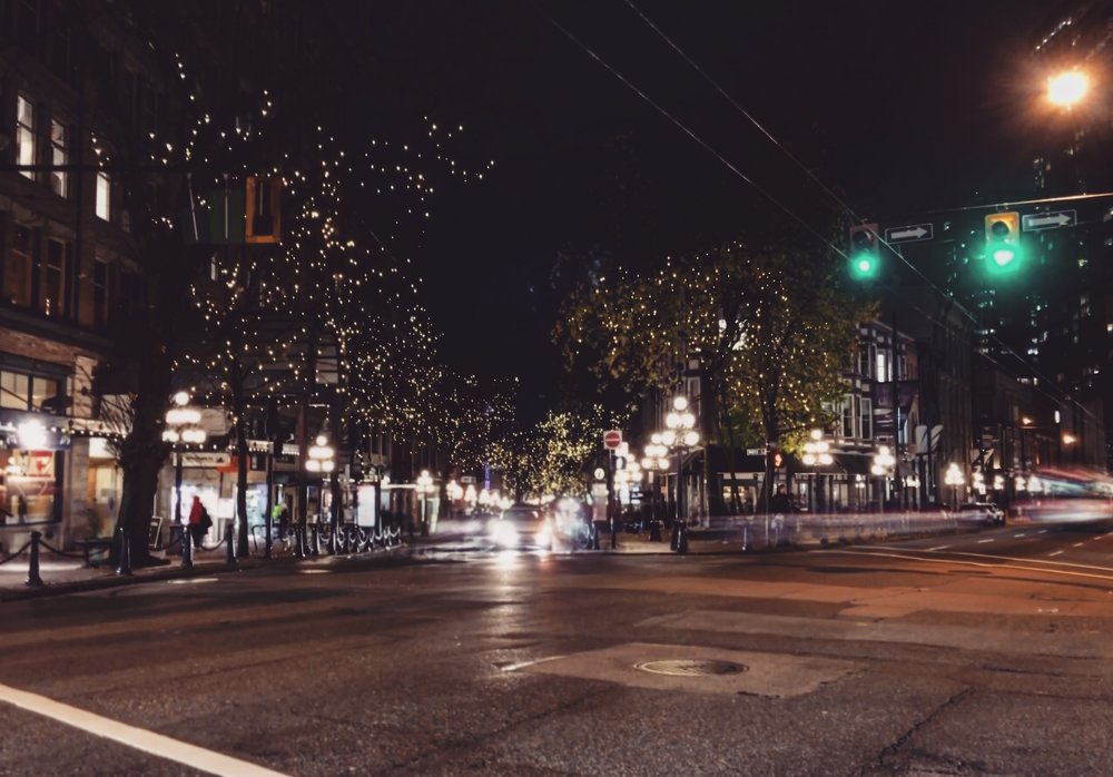 Gastown is especially pretty during the holiday season.