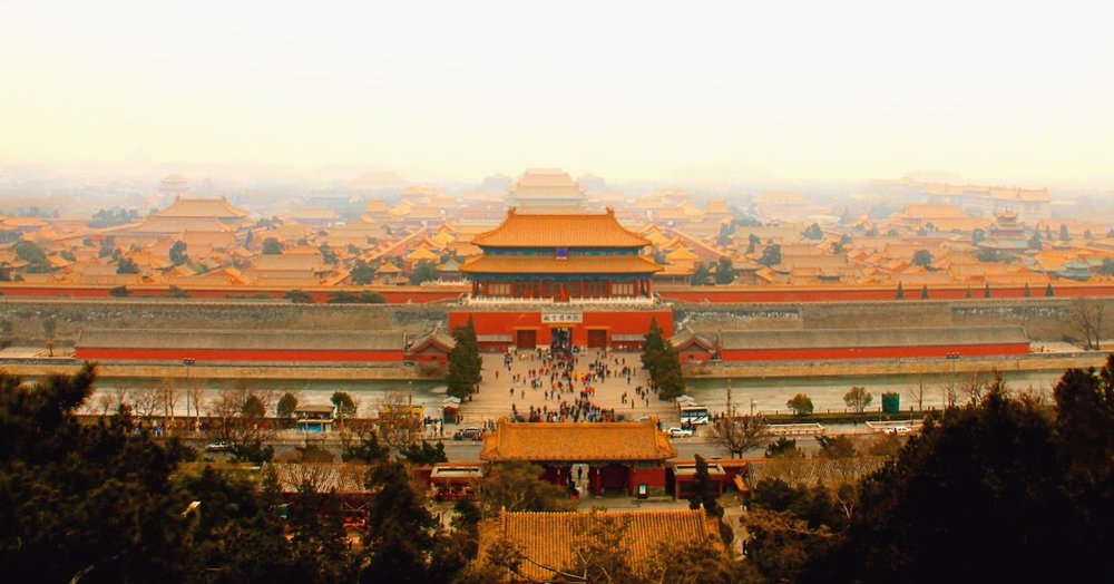 From Jingshan Park (located at the North Gate) you will have the best view overlooking the immense Forbidden City of Beijing. It was originally an imperial garden in Yuan, Ming and Qing dynasties and now it is a public park.