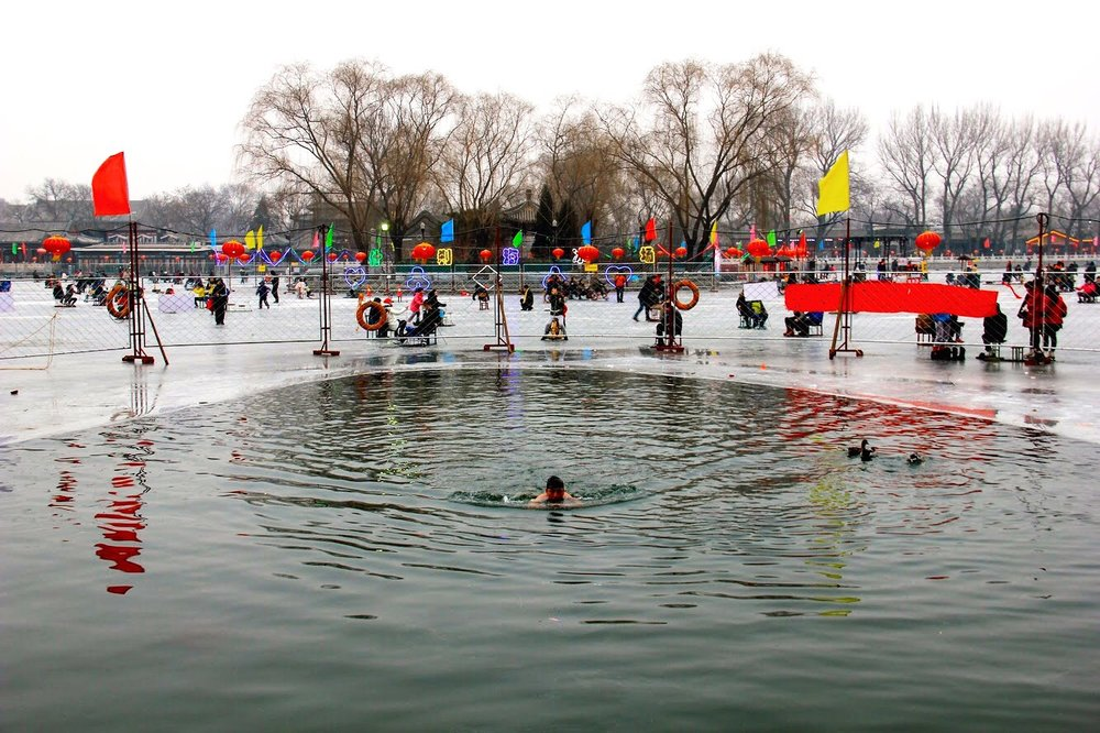 This is a small lake that is used as a skating ring during the winter months and it can even be a pool for the ones seeking for a quick and refreshing dip!