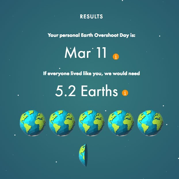 Happy #EarthDay! Then again, how many earths should you be celebrating? Fight #climatechange by taking @globalfootprintnetwork  Personal Calculator: https://bit.ly/1Sl27GW  Watch for our #Minneapolis Carbon Framework Plan breaking soon!
