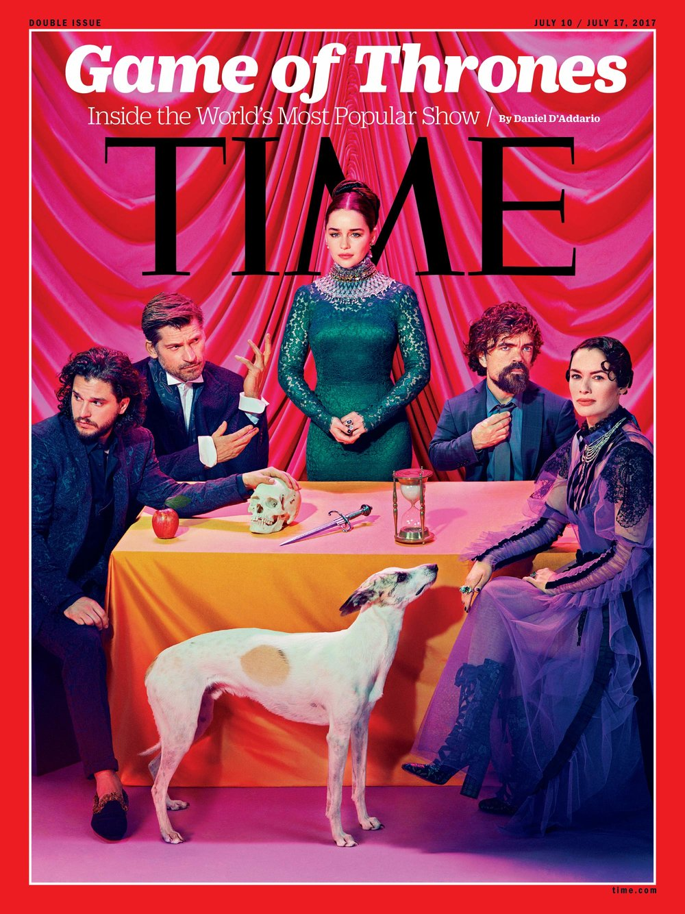 Photo composite by Miles Aldridge for TIME   See the behind the scenes of the photo shoot