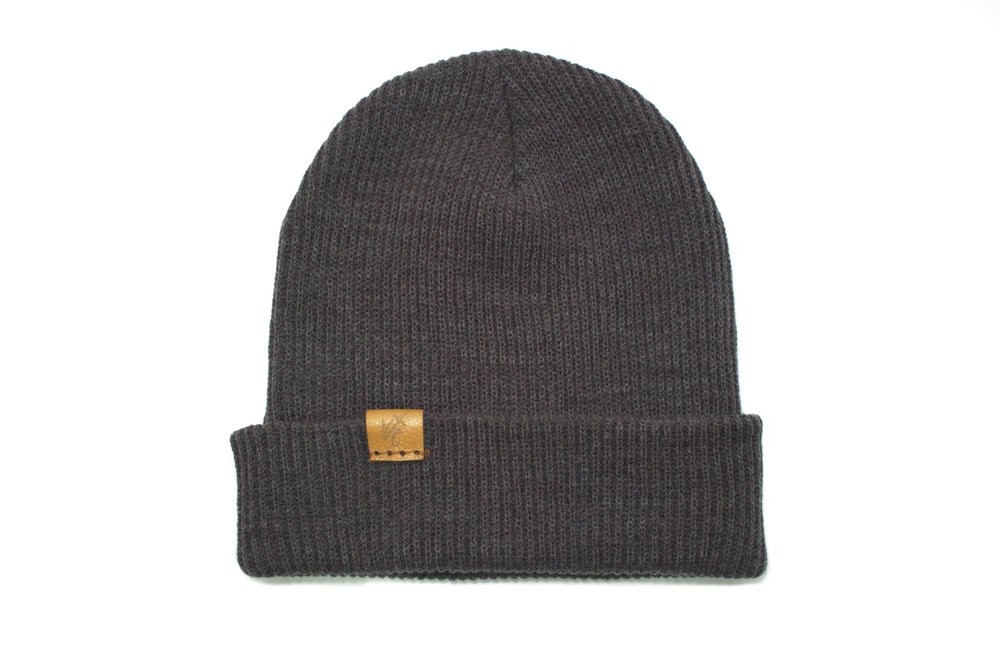 f2f1d510738 The Victorious - Slouch Beanie in Heather Grey — Victorious Caps