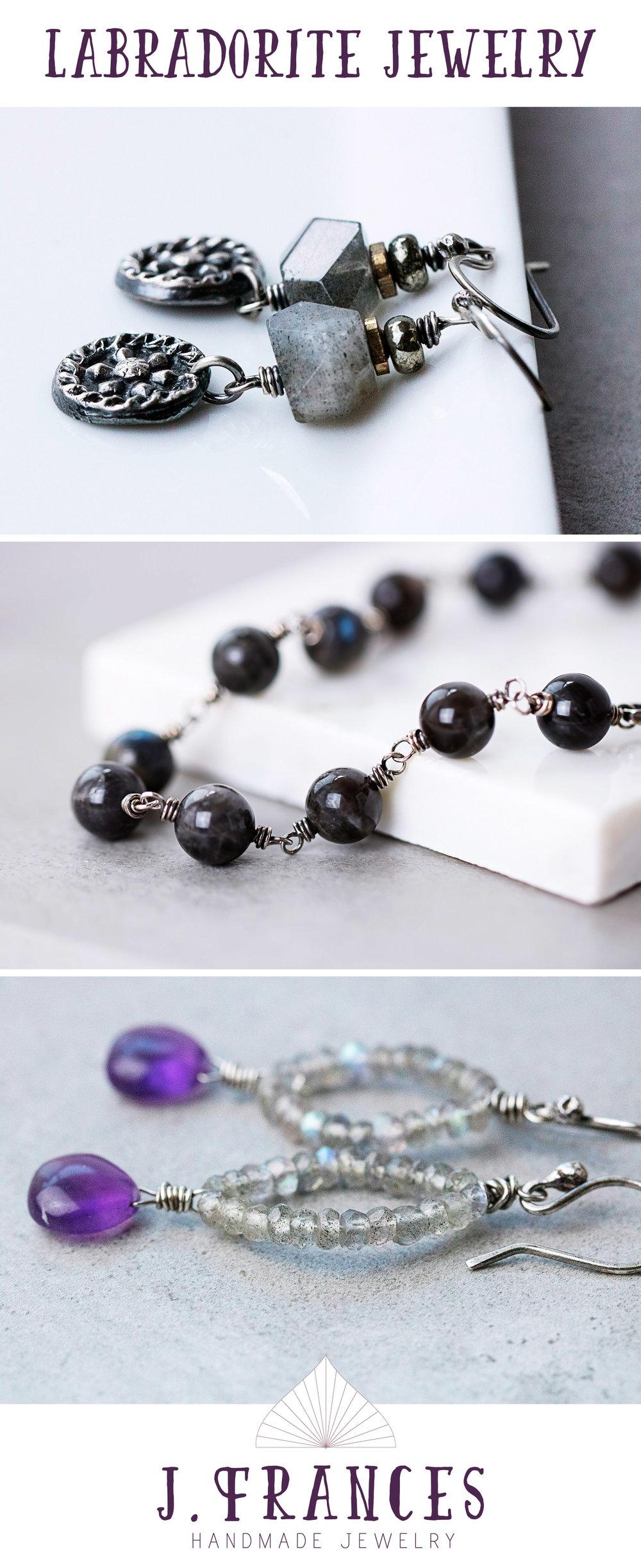 Labradorite Jewelry by j.Frances Design
