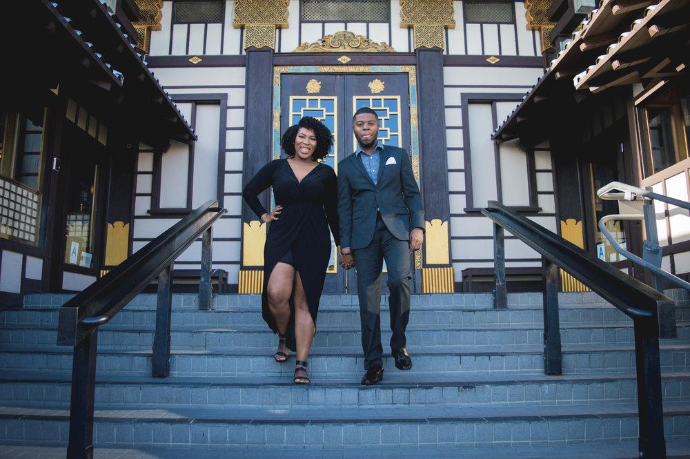 Jamal +Tashiana Engagement - Fall 2016