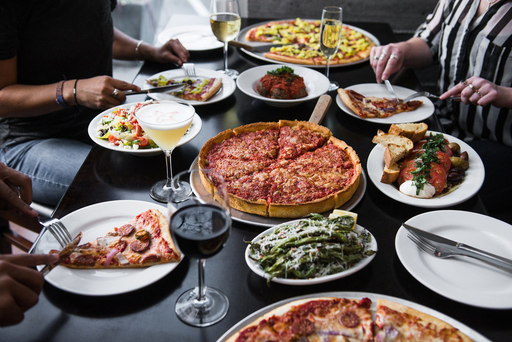 Full Menu - We have a variety of dining options to offer your guests. View our Sample Menus for inspiration to craft the perfect selection for your guests. Ask about custom items not on the menu as well. We're way more than just pizza!