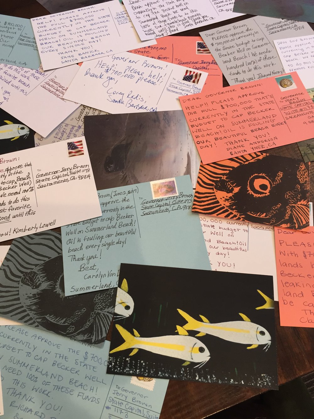 BECKER WELL POSTCARDS SENT TO GOVERNOR BROWN via Heal the Ocean 6-5-2017.jpg