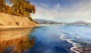 "Virginia Kamhi ""Butterfly Beach Reflections"""