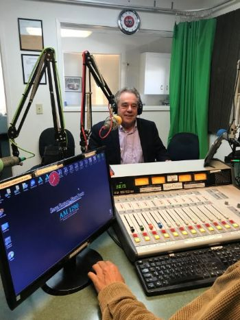 Rinaldo Brutoco hosting Solutions News (KZSB 1290AM)