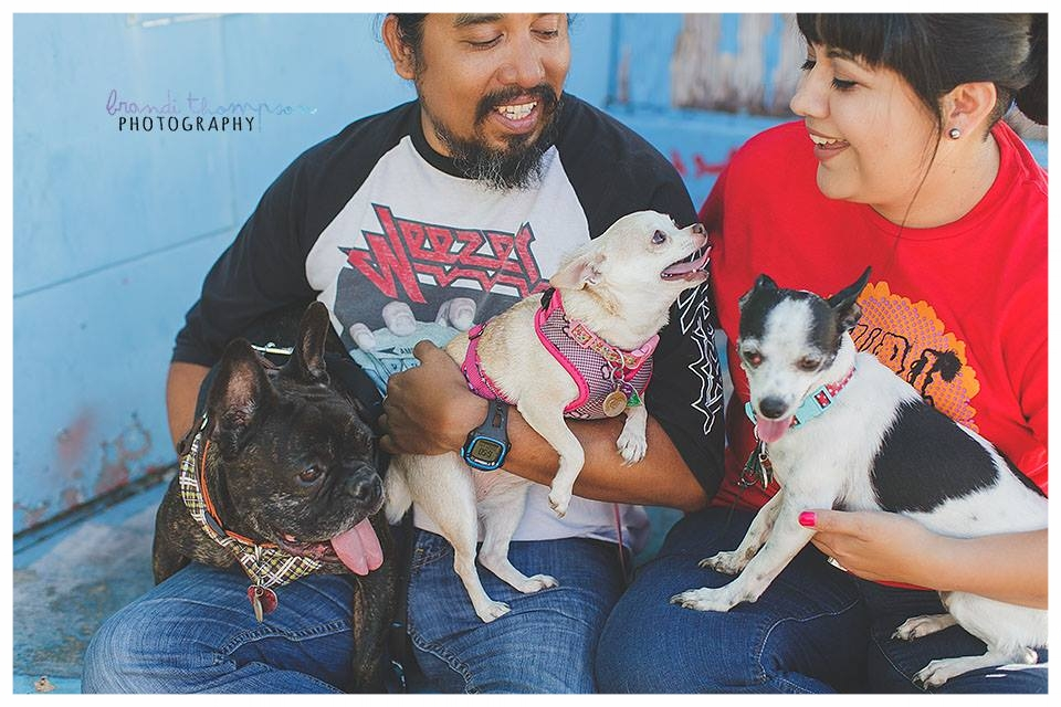 📸: Brandi Thompson Photography // Carlos, Vanessa, Alfred Hitchcock, Sookie Stackhouse and Weezer
