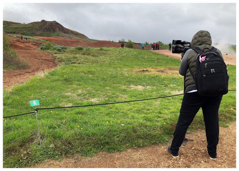 Shooting the Geysir Geothermal Field (Golden Circle - Haukadalur, Iceland)
