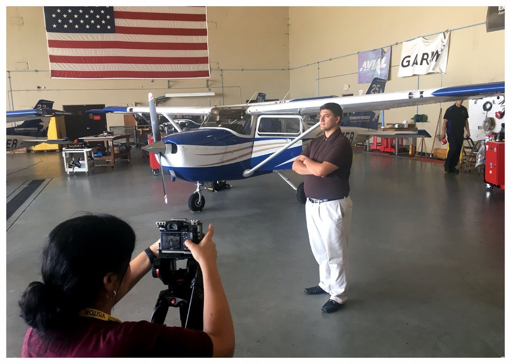 The Wings Club Foundation Scholarship Recipient (Embry-Riddle Aeronautical University in Daytona Beach, FL)