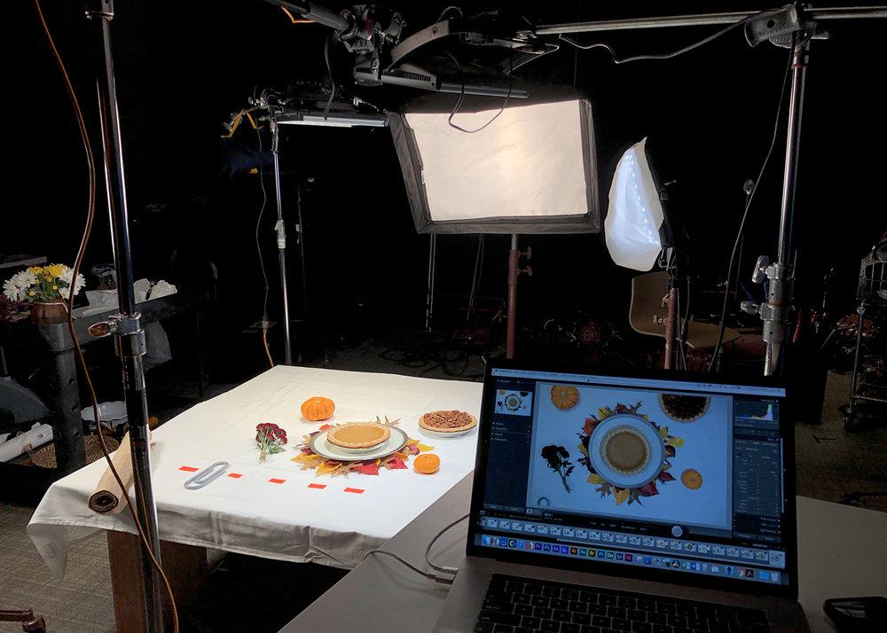Thanksgiving - Stop Motion Shoot