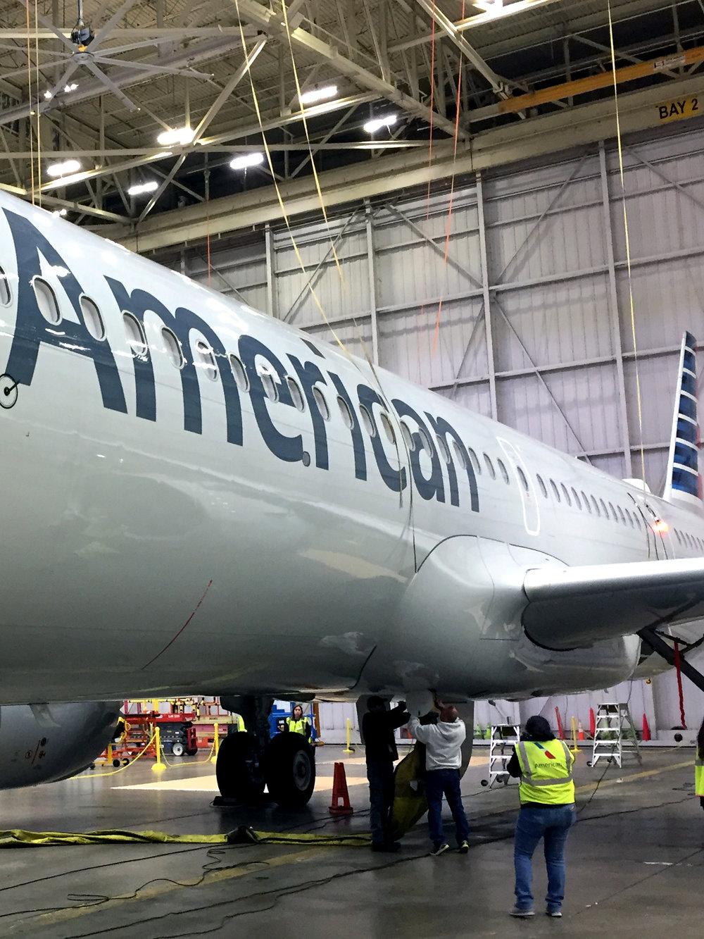 A321neo Tour at DWH Hangar 5