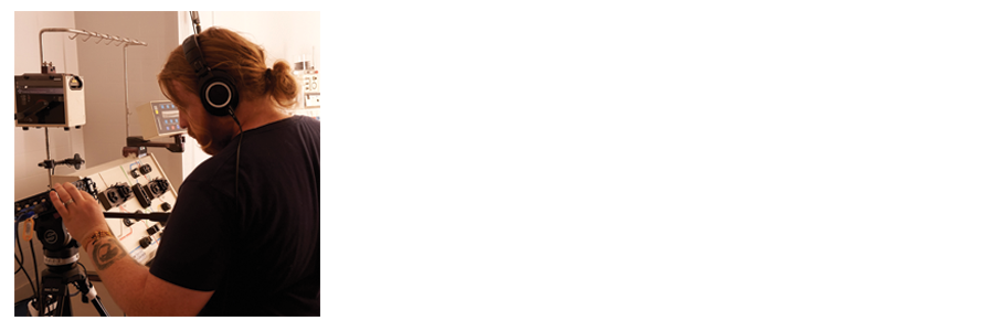 Aaron Labbé is an Intermedia Artist, Composer and Sound Designer from Toronto. Living with a diagnosis of Bipolar Disorder, Aaron has close ties with our film both through his craft and through his life experiences. On top of a conservatory background in Music and Sound Engineering, Aaron has over 7 years of Audio Production experience and 12 years of music experience.