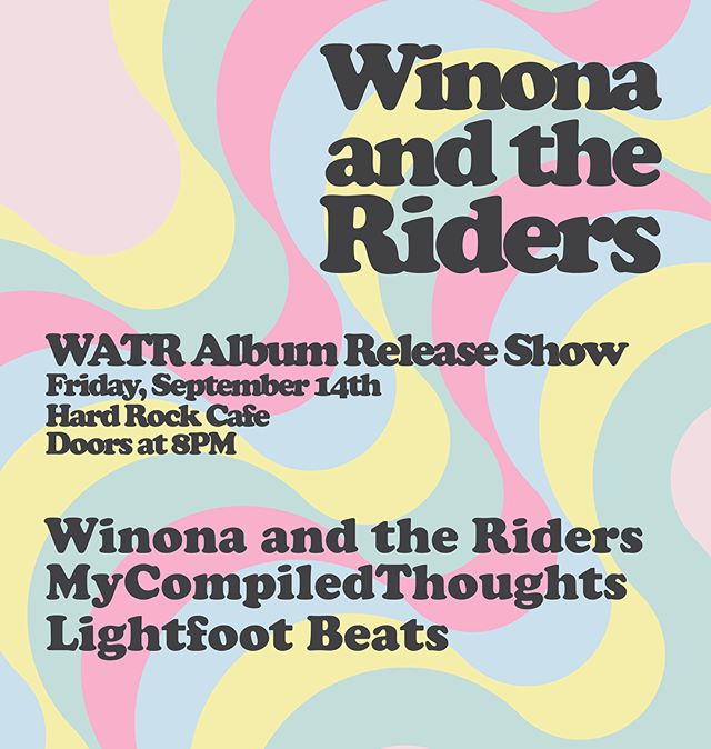 PLAYING TONIGHT AT @hardrockboston .. gonna be a hell of an album show for us alongside @lightfootbeats and @mycompiledthoughts..Grab your ticket thru the event link in our bio!🎟 . . Reminder of set times: 8 PM Doors 9 PM Lightfoot 9:45 MyCompiledThoughts 10:30 Winona