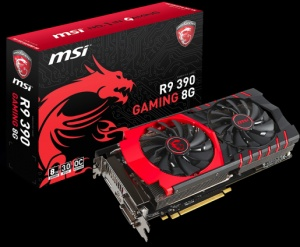 MSI Radeon R9 390 DirectX 12 R9 390 GAMING 8G 8GB 512-Bit GDDR5 Ethereum - BAD BOY FOR ETHEREUM MINING! (RARE)
