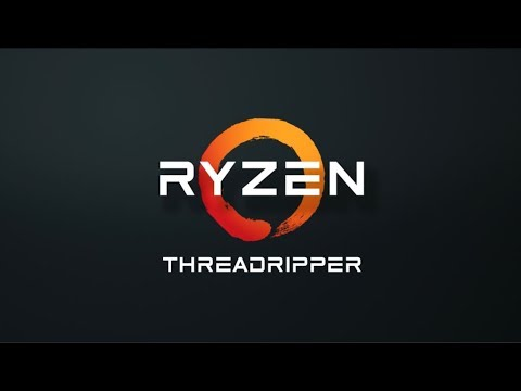 AMD RYZEN THREADRIPPER 1950X 16-Core / 32 Threads 3.4 GHz - FAST AS HELL!! EXTREMELY SERIOUS!!