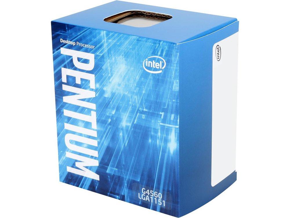 Intel Pentium G4560 Kaby Lake Dual-Core 3.5 GHz LGA 1151 54W