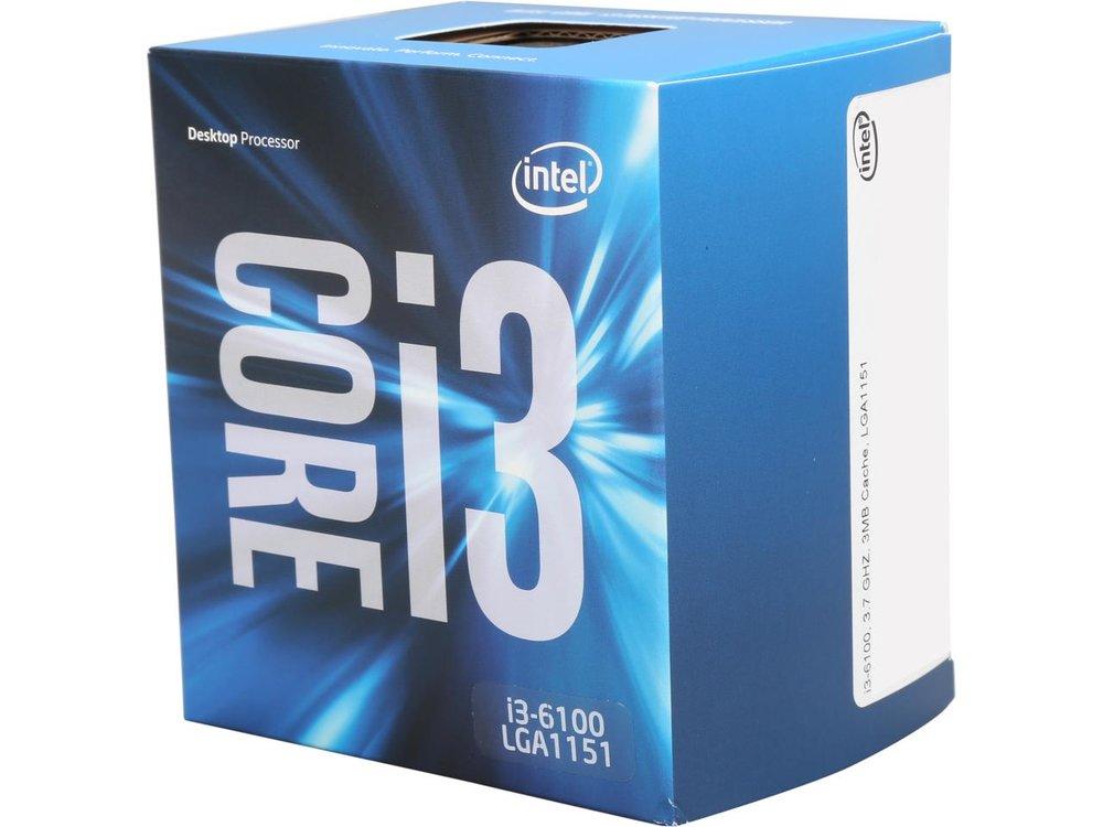 Intel Core i3-6100 3M 3.7 GHz LGA 1151