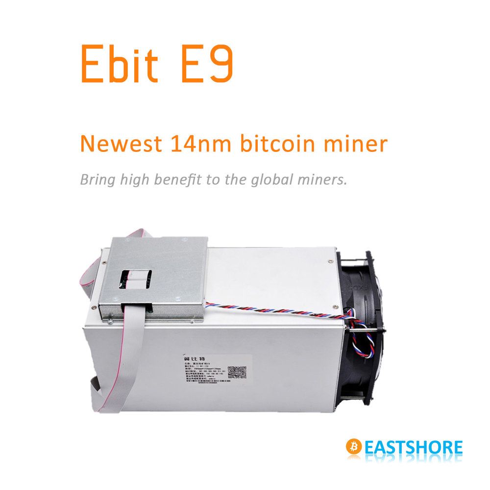 Bitcoin Ultimate Miner Ebit E9