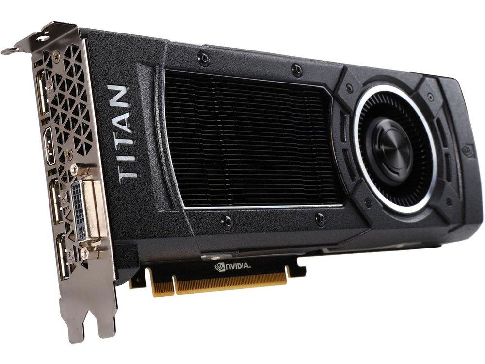 ASUS GeForce GTX TITAN X GTXTITANX-12GD5 12GB 384-Bit - Extremely High Sol/s Rate!!