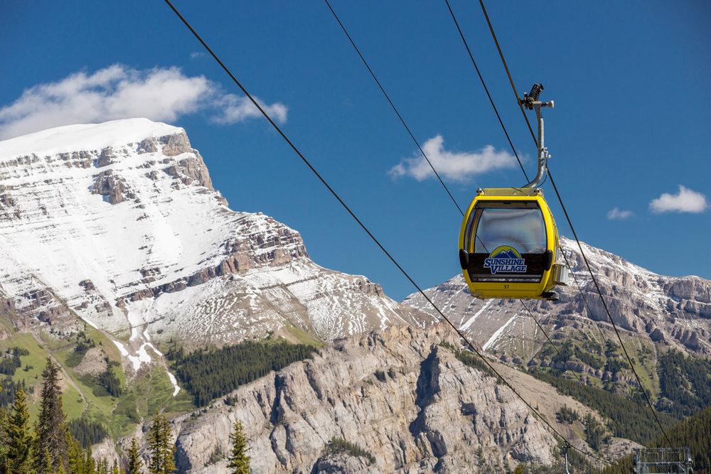 Sunshine Village Sightseeing Gondola