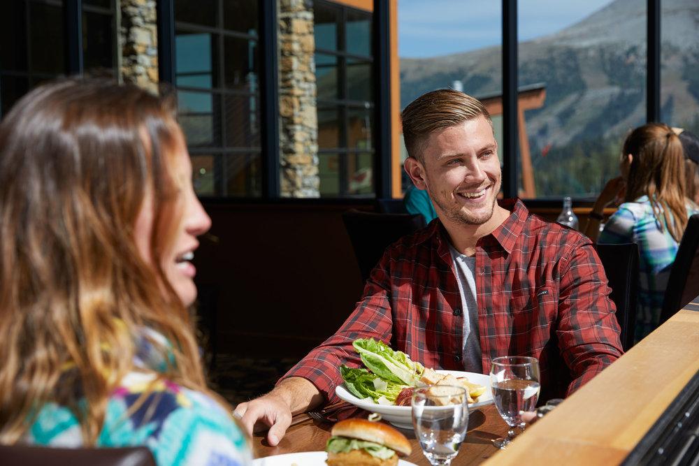 Chimney Corner fireside dining - Full service breakfast, lunch, and dinner.Summer Hours: Open 7 am - 10 pm