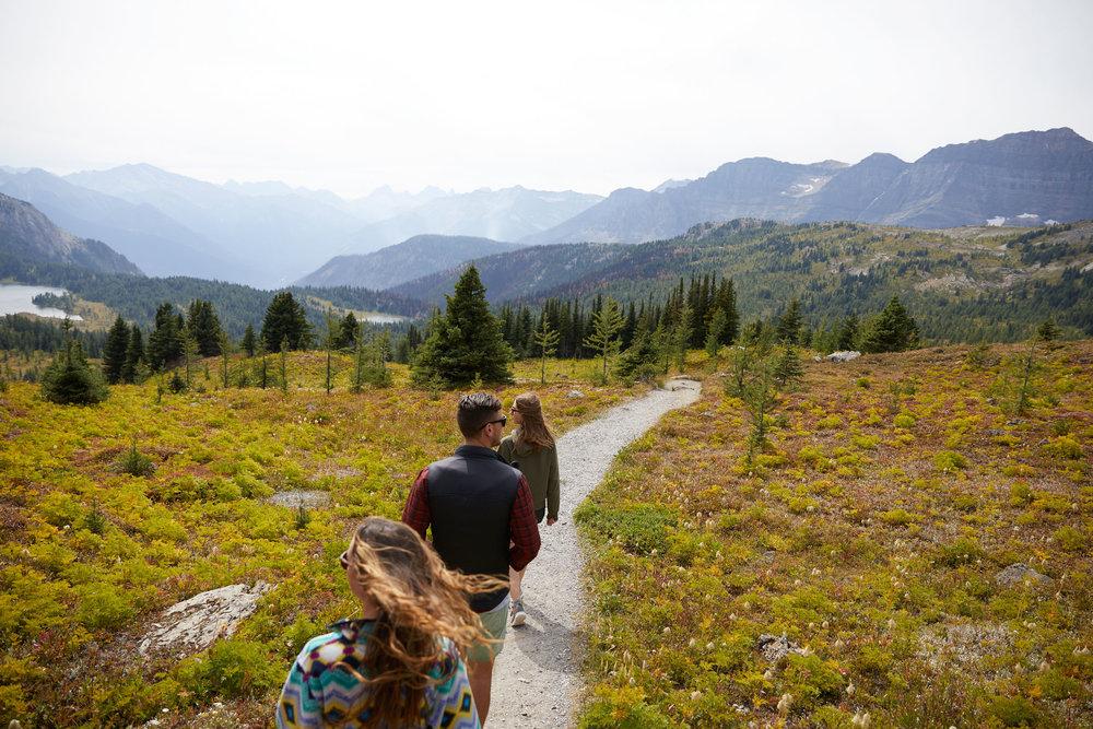 WHERE TO HIKE? - Explore the beauty of Banff Sunshine Meadows.