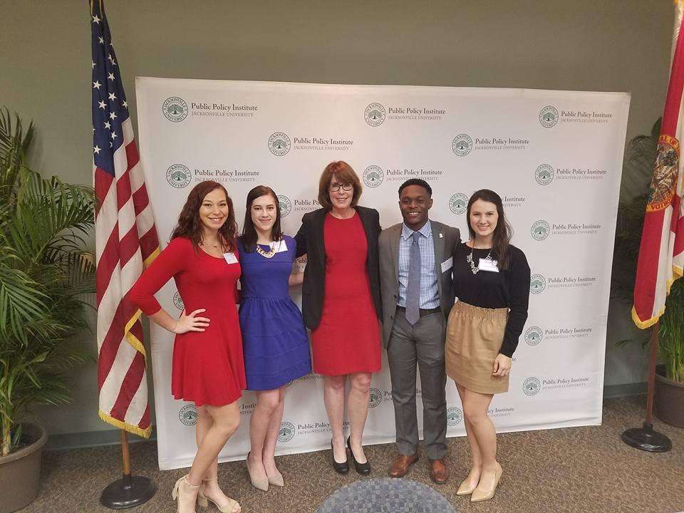 Jacksonville University College Democrats - Jacksonville, FLPresident: Alyshia HoganFacebookInstagram