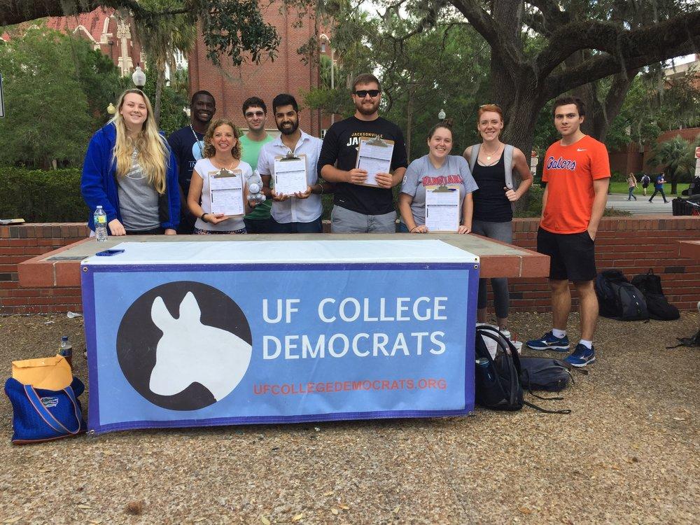 University of Florida College Democrats - Gainesville, FLPresident: Kristen JacksonFacebookTwitterInstagram