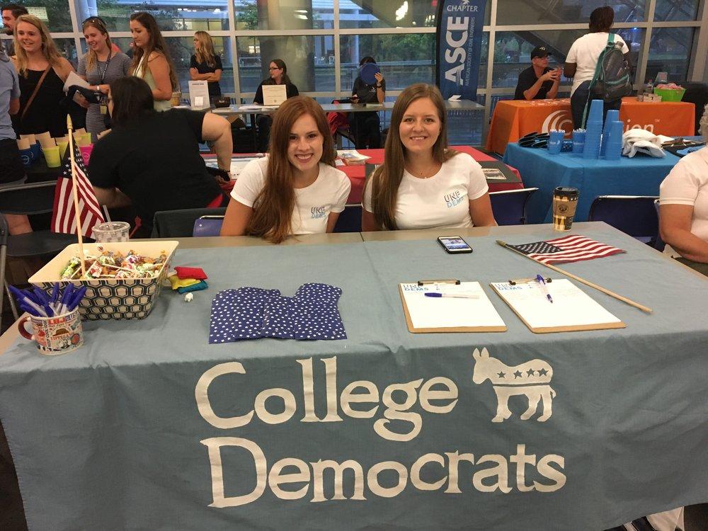 University of North Florida College Democrats - Jacksonville, FLPresident: Austin BeletFacebookTwitterInstagram