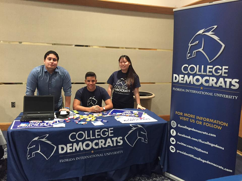 Florida International University College Democrats - Miami, FL President: William Joel Bravo FacebookTwitterInstagram