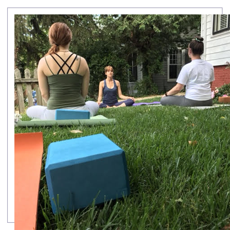 FRONT YARD YOGA - Enjoy a cardiovascular workout and release bodily and mental tension while bringing your attention to the great outdoors! These donation-based classes are held in North Asheville.