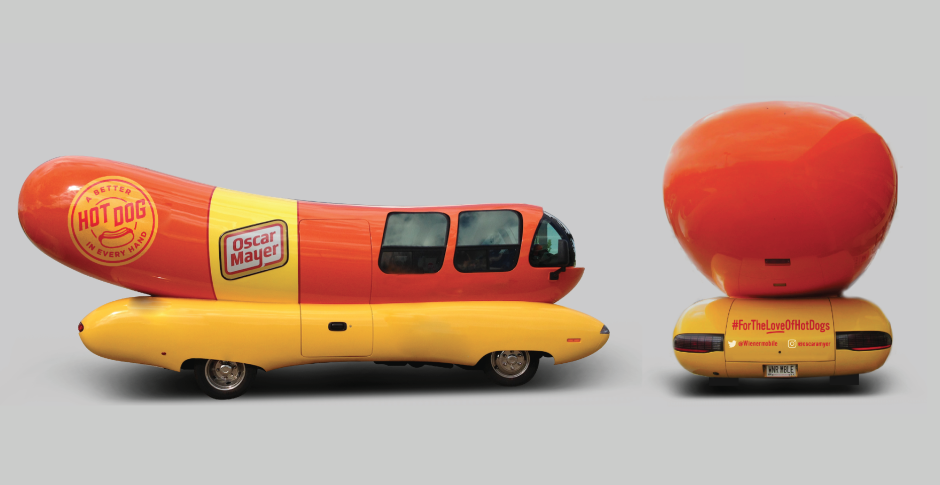 Wienermobile Decal