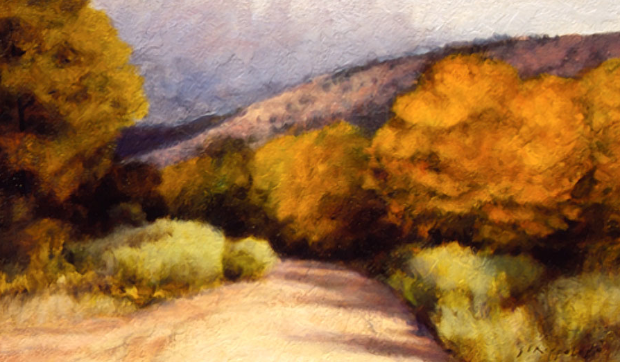 Arroyo North of Town - 24x40