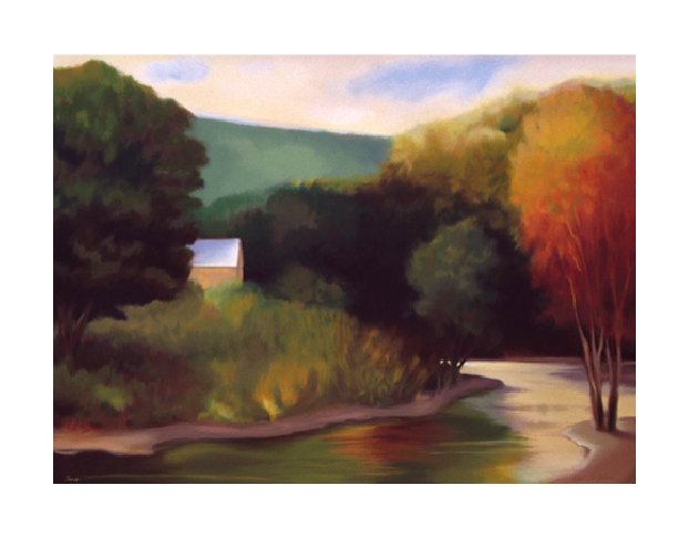 RIVER HOUSE - 30x40
