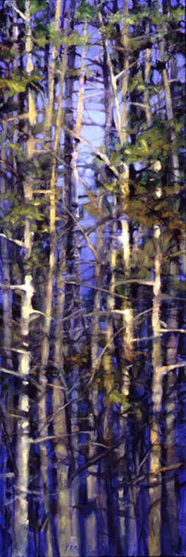 Tree Squeeze #3 - 72x24 Sold