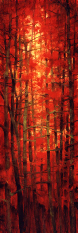 Tree Squeeze #4 - 72x24 Sold
